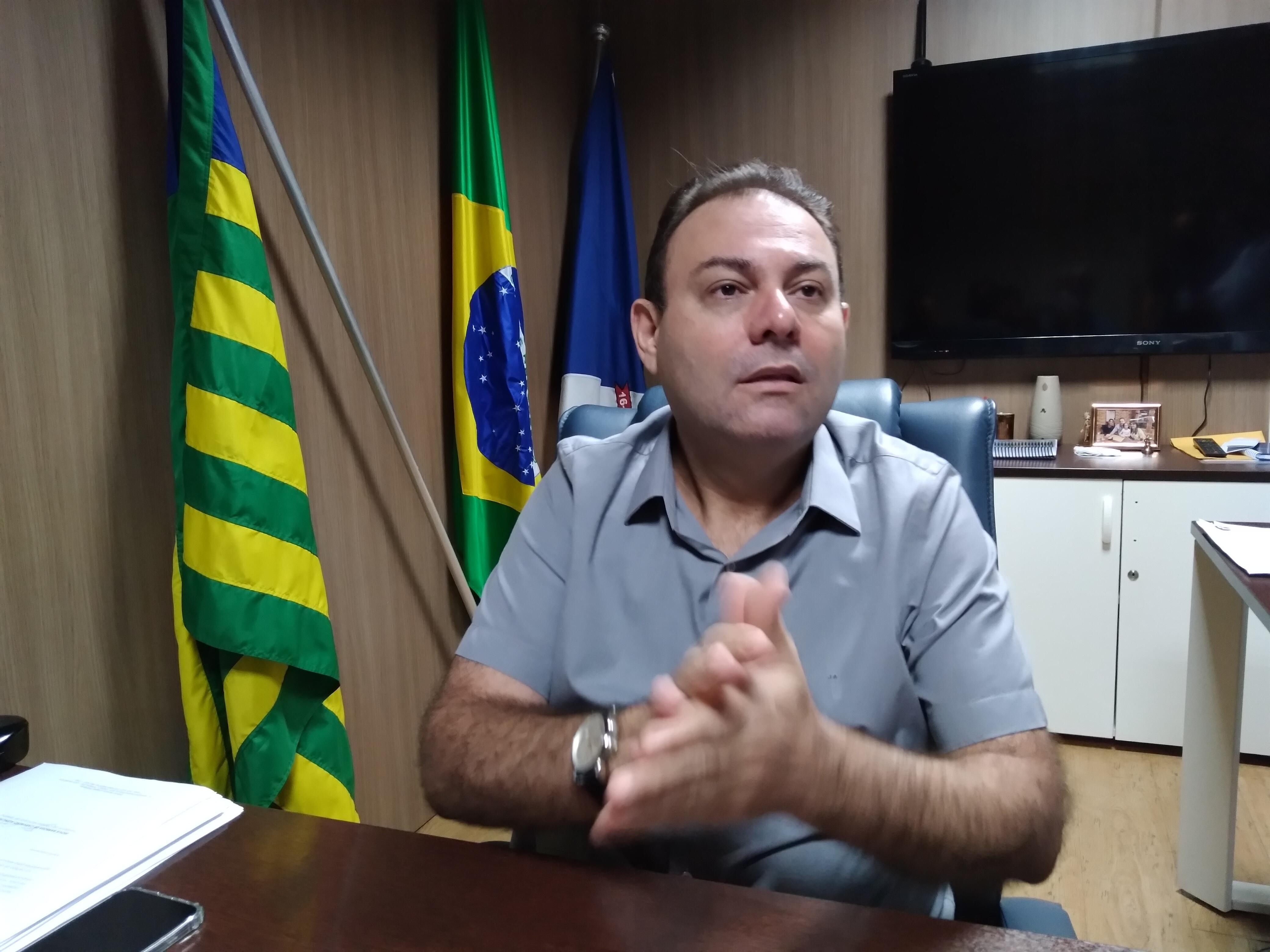 Vereador Jeová Alencar, presidente da Câmara Municipal de Teresina