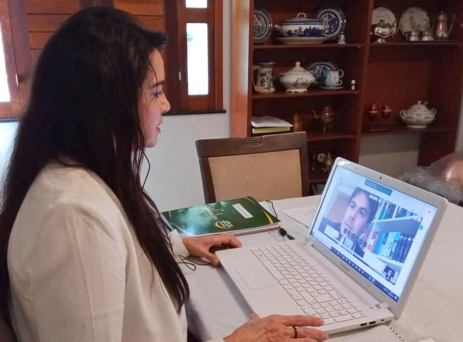Deputada estadual Teresa Britto (PV)