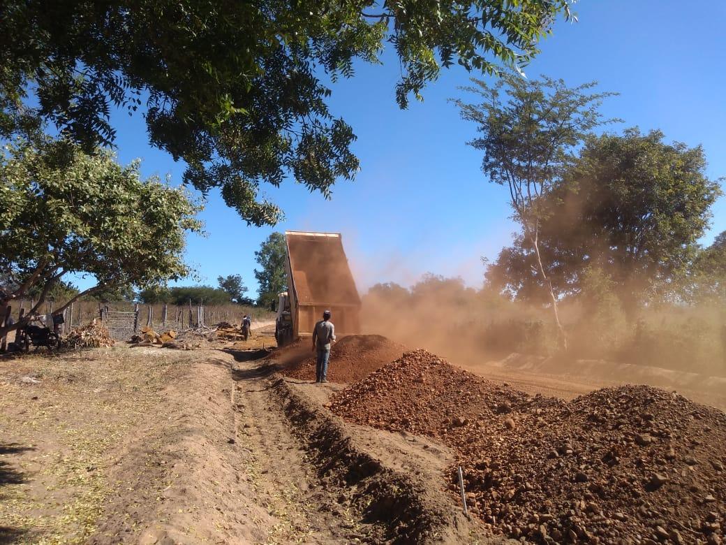 As obras da barragem Atalaia então e fase de conclusão